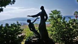 Miejsce nad Jeziorem Galilejskim, w którym Chrystus nadał Piotrowi przywilej prymatu.