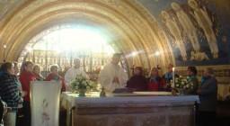 GĂłra Tabor. Poranna Eucharystia.