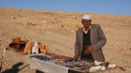 Pustynia Judzka. Kram Beduina.