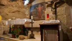 Jerozolima. GĂłra Oliwna. Grota Getsemani (zwana GrotÄ… Judasza).
