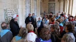 Jerozolima. Góra Oliwna. Kościół Pater Noster. Tu Chrystus nauczył uczniów modlitwy