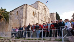 Jerozolima, pochodzący z czasów Krzyżowców kościół św. Anny.