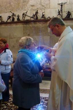 Jerozolima. Bazylika Grobu Świętego. Eucharystia w Kaplicy franciszkańskiej (Najświęt
