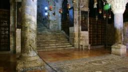 Jerozolima. Bazylika Grobu ĹšwiÄ™tego. Kaplica Ĺ›w. Heleny (Odnalezienia KrzyĹĽa ĹšwiÄ™teg
