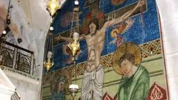 Jerozolima. Bazylika Grobu Świętego. Kaplica ormiańska.