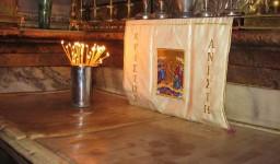 Komora Grobu Chrystusa. Miejsce Zmartwychwstania.