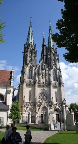 Katedra w Ołomuńcu.