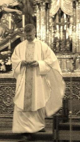 Msza w sanktuarium na Świętym Kopczyku w Ołomuńcu na Morawach.