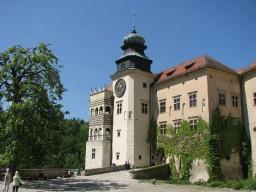 Zamek w Pieskowej Skale w Ojcowskim Parku Narodowym.