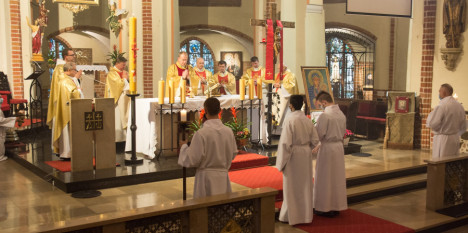 75-lecie pierwszej powojennej Mszy Świętej w polskim Stargardzie