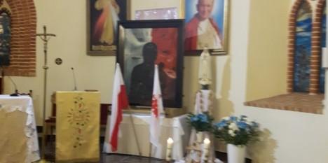 Obraz Matki Bożej Solidarności w Klępinie