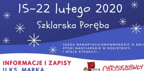 Obóz zimowy dla młodzieży