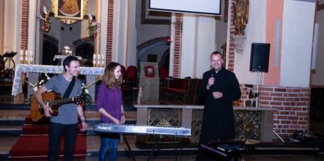 Koncert duetu LAUDANS z Białorusi