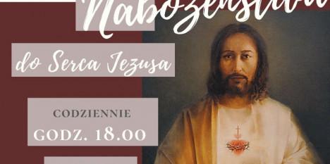 Nabożeństwa czerwcowe ku czci Najświętszego Serca Pana Jezusa.