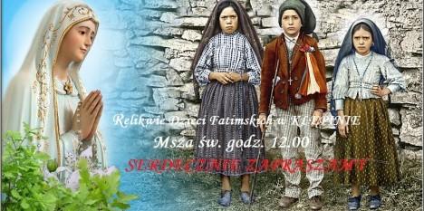 Relikwie Dzieci Fatimskich w Klępinie