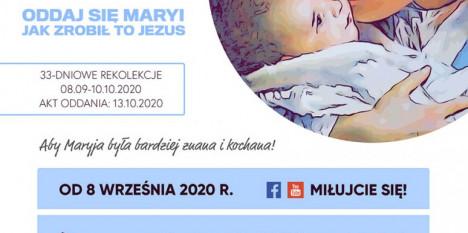 Ogólnopolskie 33-dniowe rekolekcje internetowe - ODDANIE